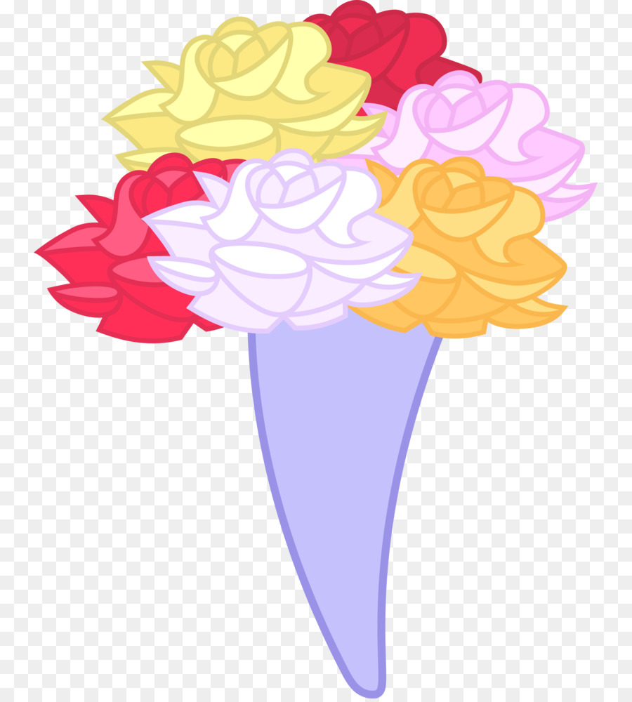 Rainbow Dash Flower bouquet Clip art - cartoon flowers png download ...