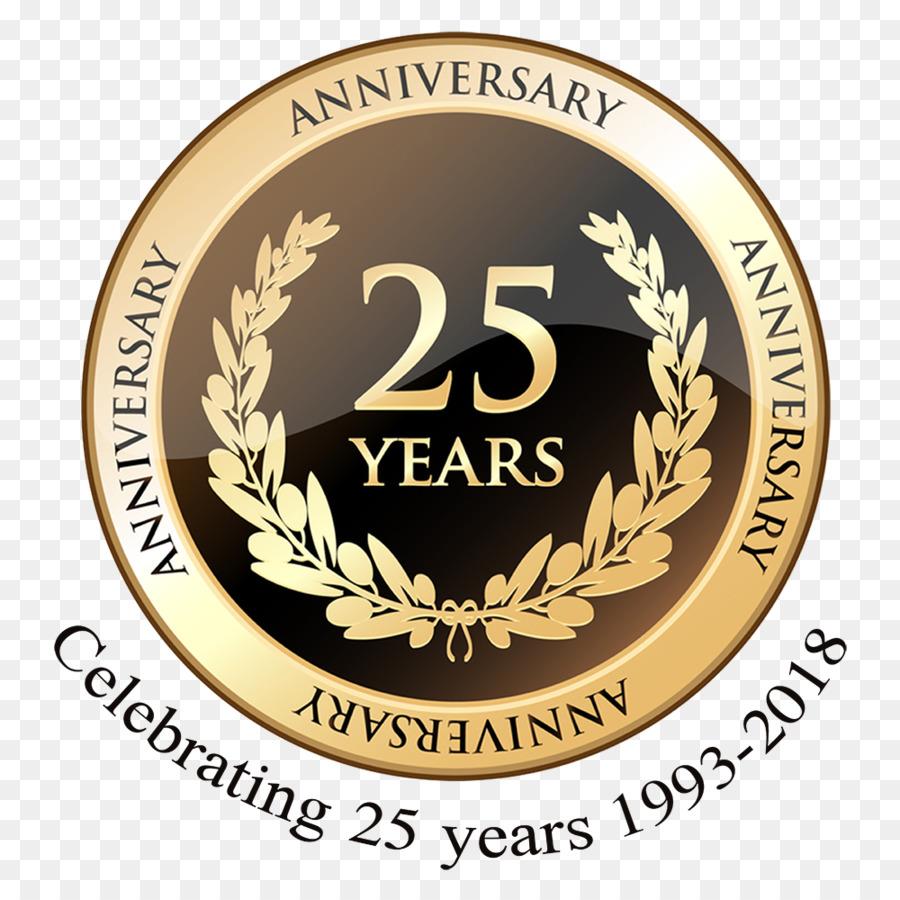 25th Year Anniversary Celebration Wedding Anniversary 1
