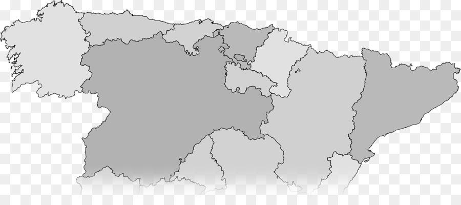 Map Of Spain 1300.Map Autonomous Communities Of Spain Community Asturias Geography