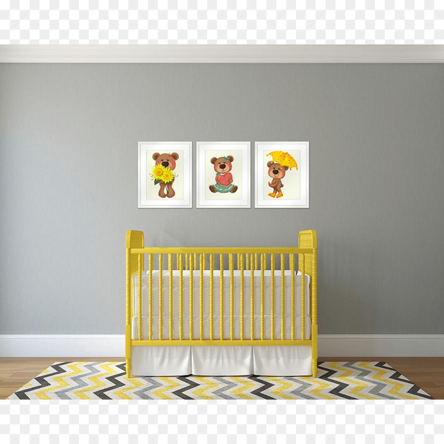 Wall decal Sticker Nursery - bear footprint png download - 1000*1000 ...