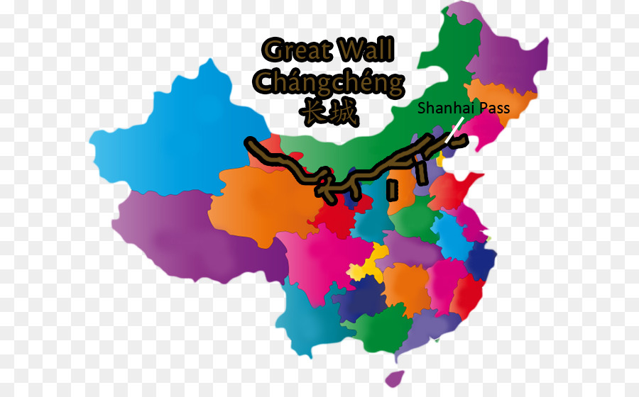 Flag Of China Stock Photography Vector Map Great Wall China Png