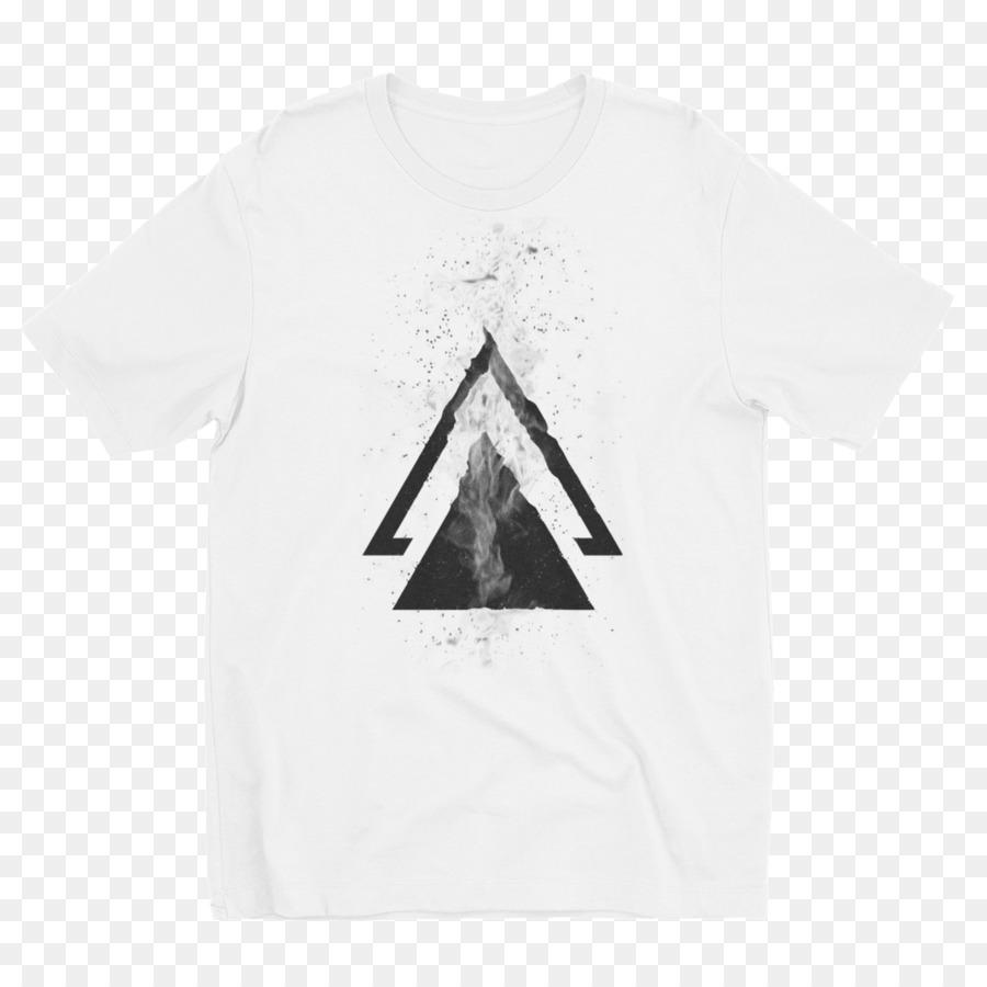 29fac3de9ce T-shirt Triangle Logo Font - T-shirt png download - 1000*1000 - Free ...