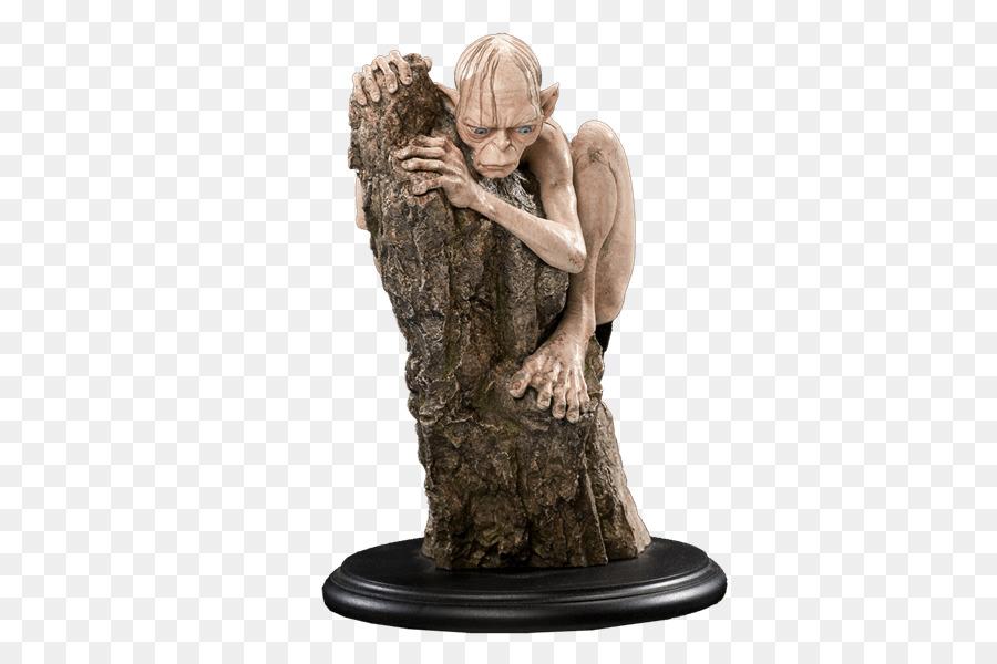 Gollum de El Señor de los Anillos de Bilbo Baggins El Hobbit Weta ...