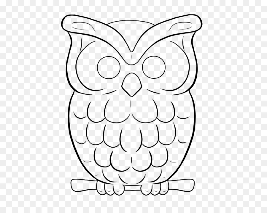 Owl Drawing Line Art Owl Png Download 581715 Free Transparent