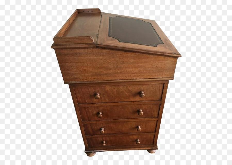 Chiffonier Table Drawer Davenport Desk