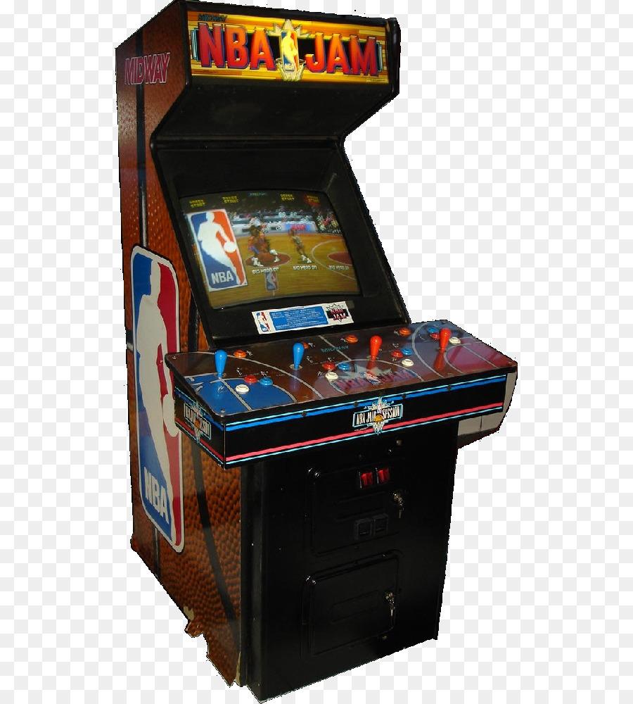 Arcade Cabinet Nba Jam Te Nba Jam Extreme X Men Basketball