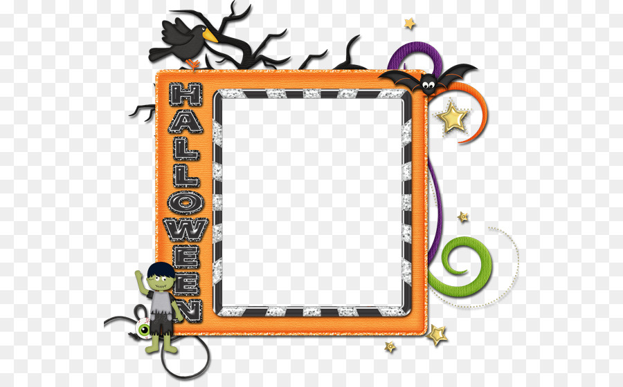 Picture Frames Scrapbooking Halloween Clip Art Ghost And Goblins