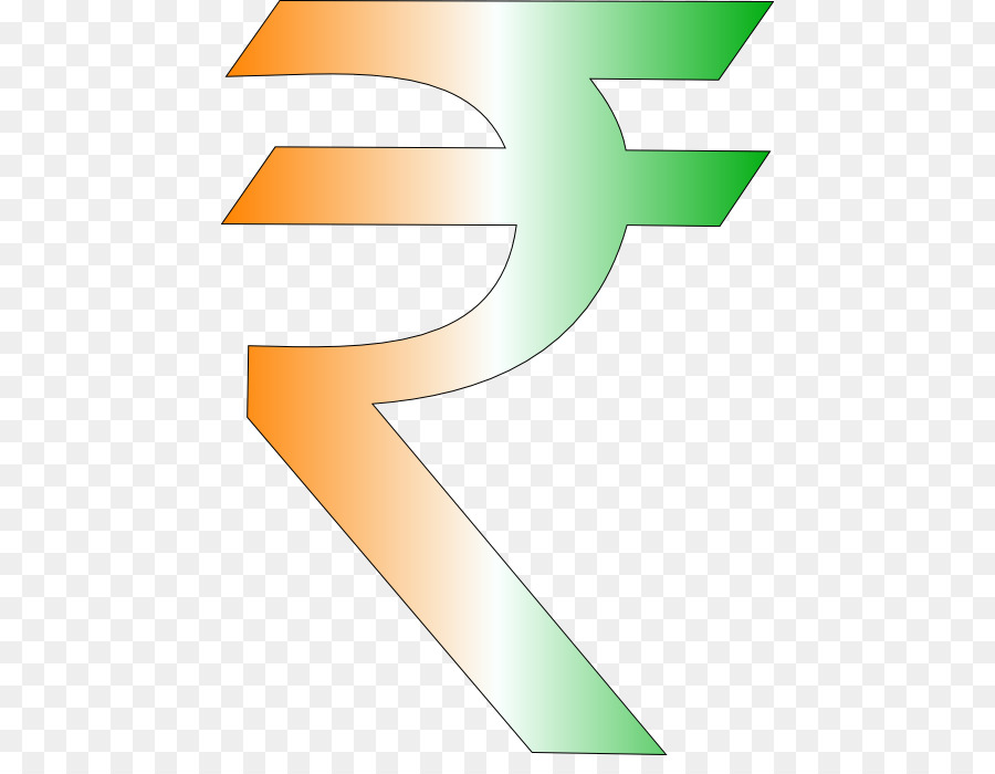 Indian Rupee Sign Currency Symbol India Png Download 500683