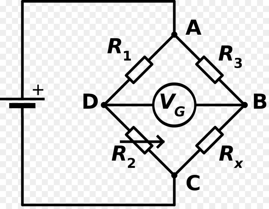 Wheatstone Bridge Bridge Circuit Electronic Circuit Electrical