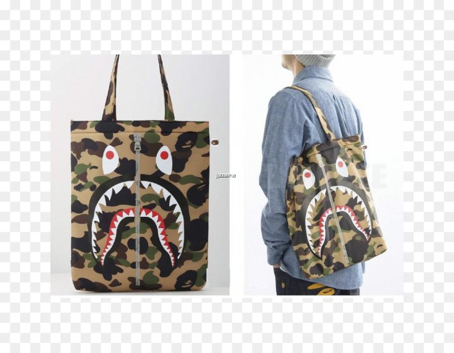 3962e0c9a73a A Bathing Ape Tote bag Messenger Bags Streetwear - bag png download -  700 700 - Free Transparent Bathing Ape png Download.