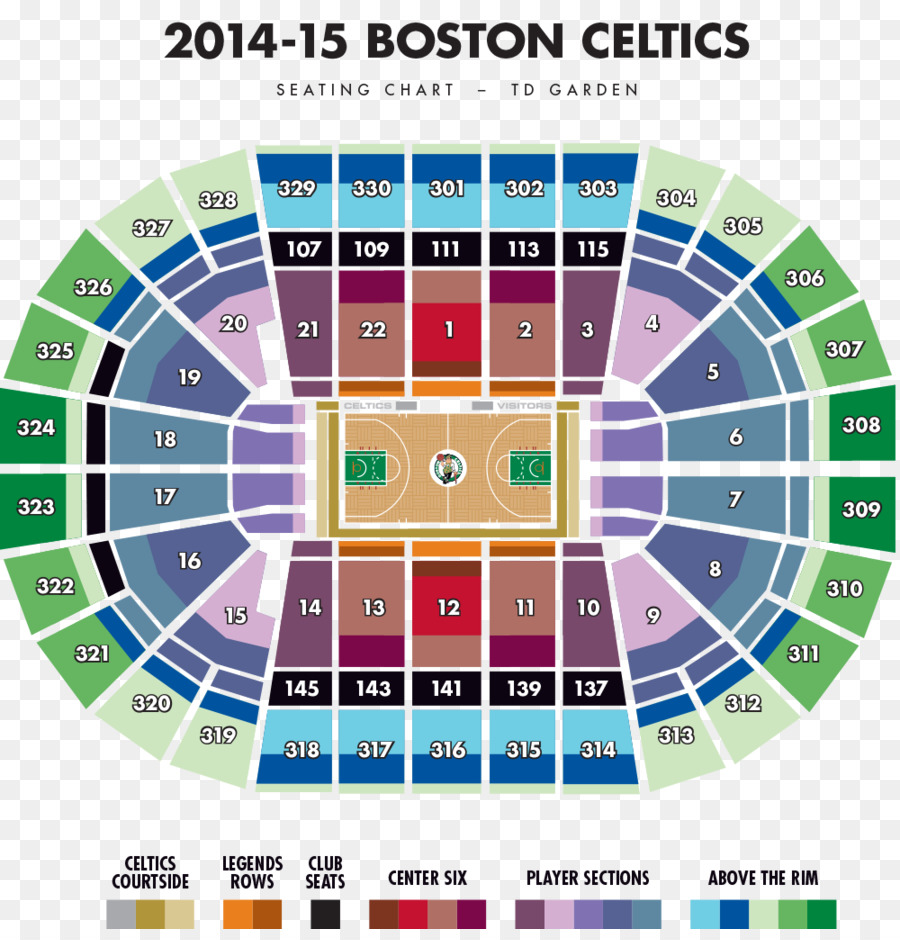 Good TD Garden Boston Celtics Boston Bruins Aircraft Seat Map Seating Plan   Map