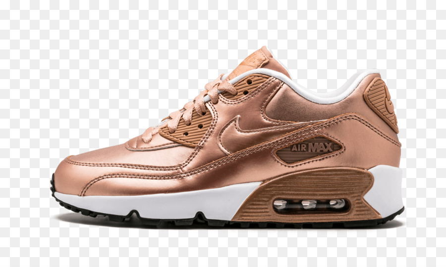 pretty nice 00d34 d6b63 Nike Air Max Gold Sneakers Red - nike png download - 1000 600 - Free  Transparent Nike Air Max png Download.