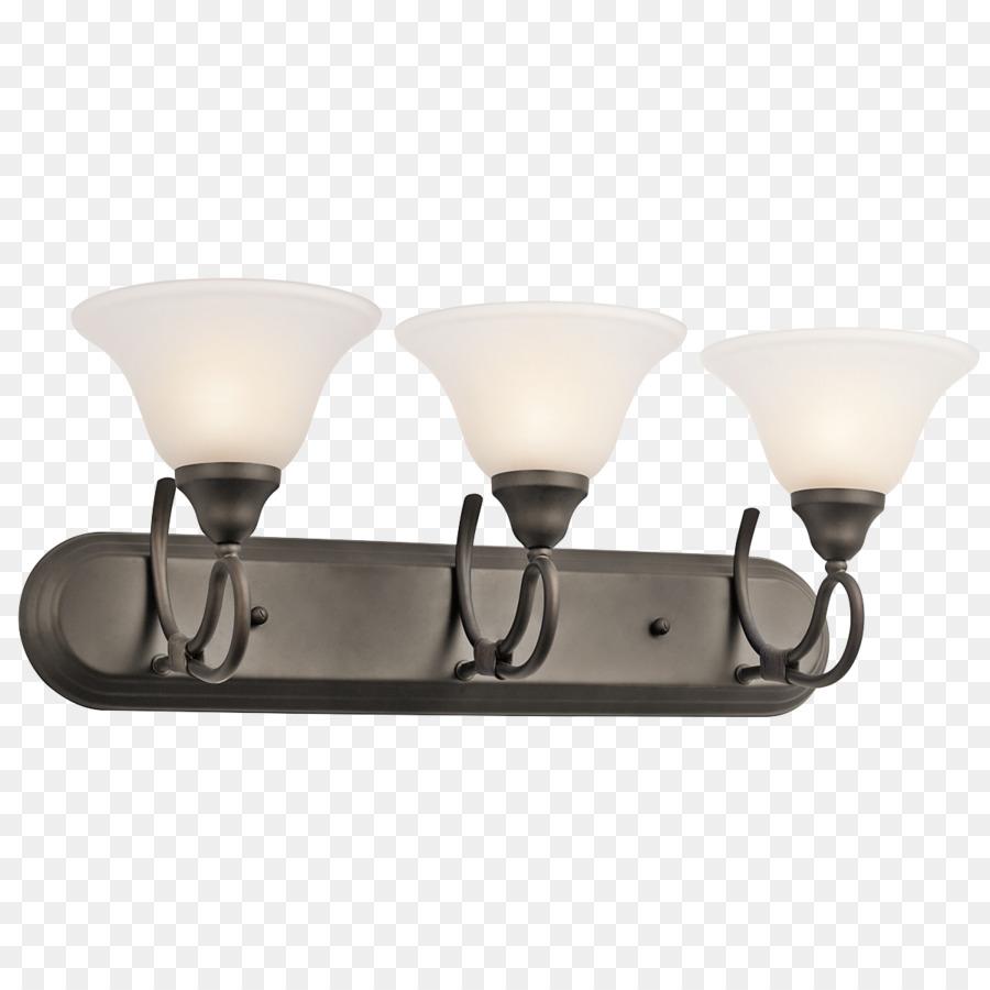 Lighting Light fixture Bathroom Sconce - lighting fixture png ...