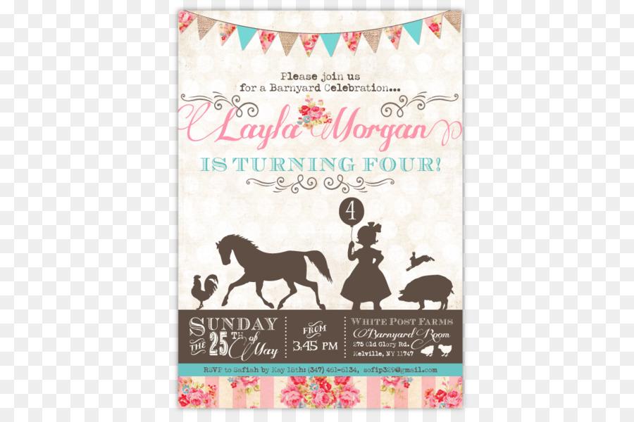 Wedding invitation Party Birthday Baby shower Petting zoo - Birthday ...