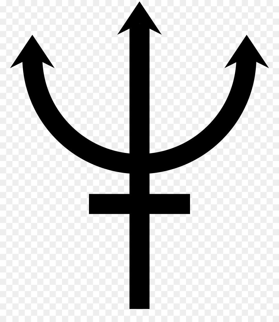 Earth Planet Symbols Neptune Roman God Png Download 8441024