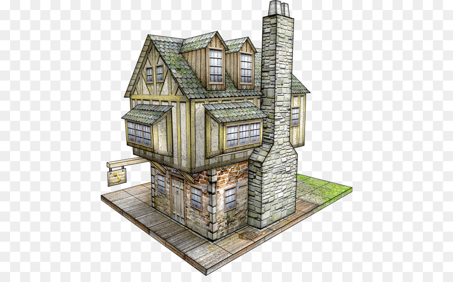 Paper model mermaid tavern saltbox building png download 500548 paper model mermaid tavern saltbox building malvernweather Image collections