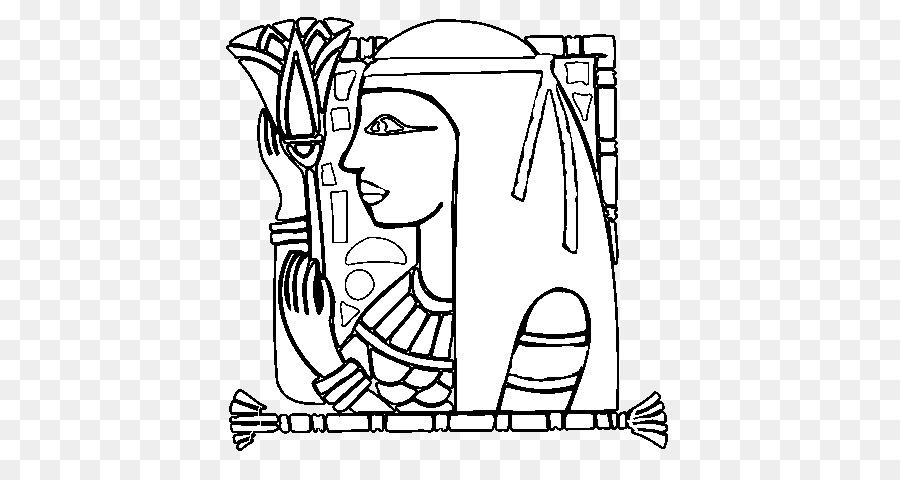 Drawing Ancient Egypt Egyptian Language Coloring Book Egyptian