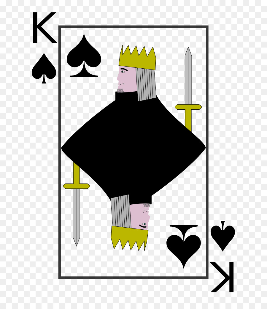 King Of Spades King Of Spades Playing Card Cassino King Png
