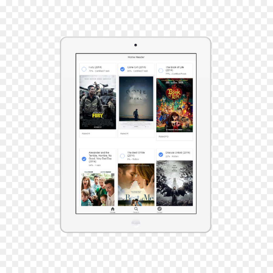 Ионные Шаблон Андроид Apache Кордова - белый iPad png