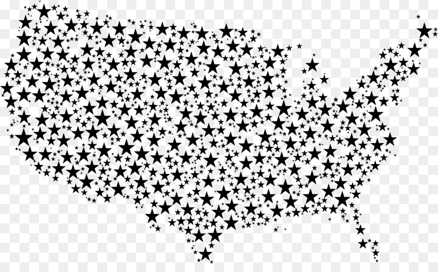 star map png download - 2290*1382 - Free Transparent United States