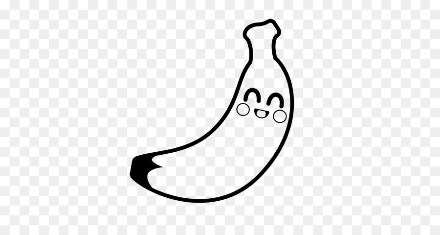 Dibujo para Colorear libro de Plátano Fruta - banano Formatos De ...
