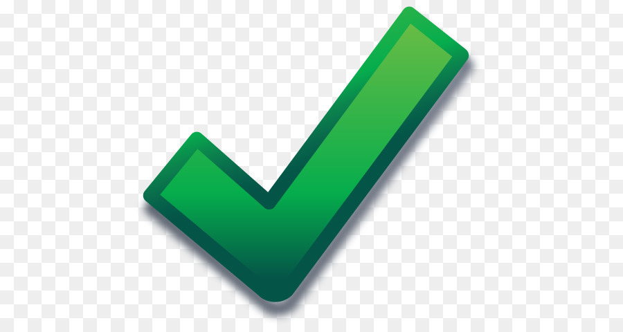 Green check mark icon transparent background