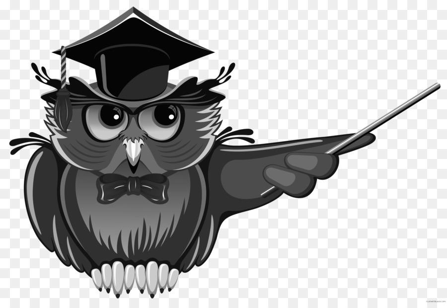 Owl Teacher Education School Clip Art