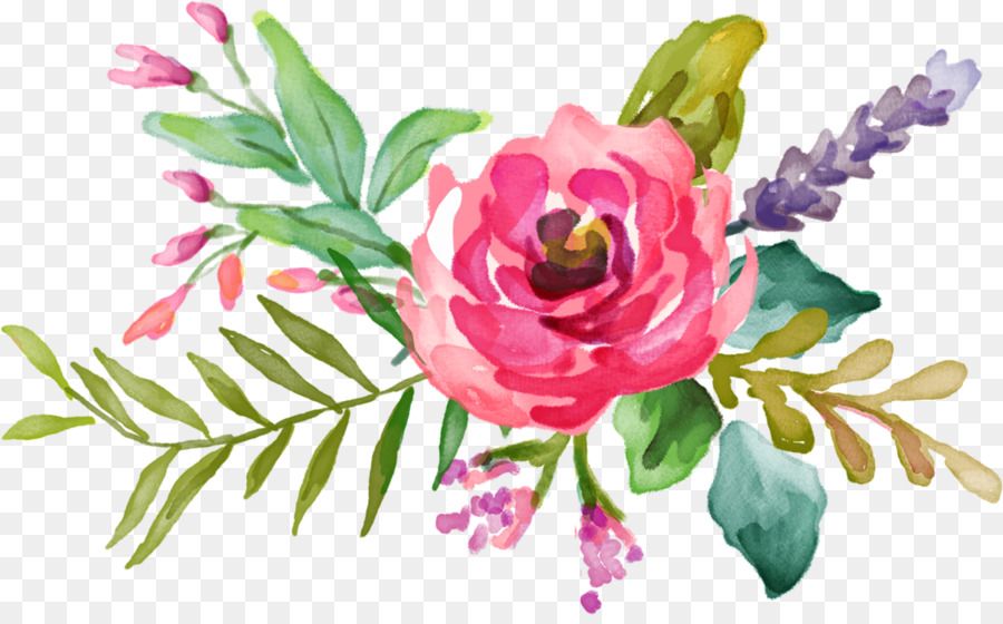 Watercolour Flowers Floral Design Watercolor Painting Flower Png