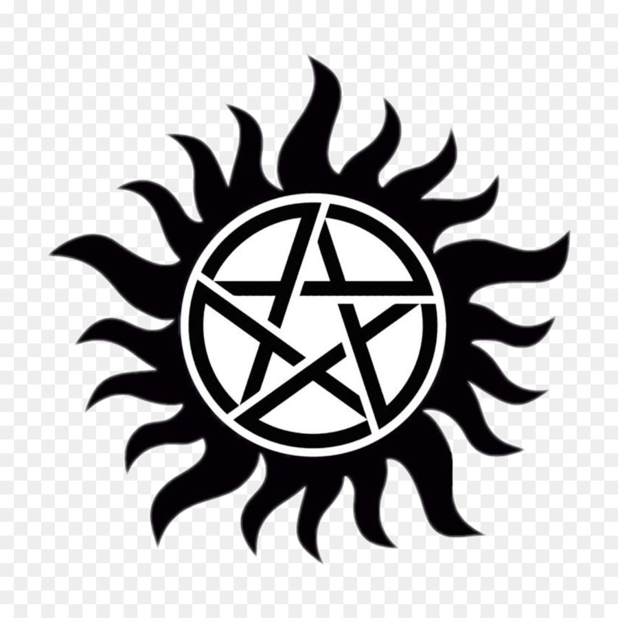 Dean Winchester Devils Trap Symbol John Winchester Demon Symbol