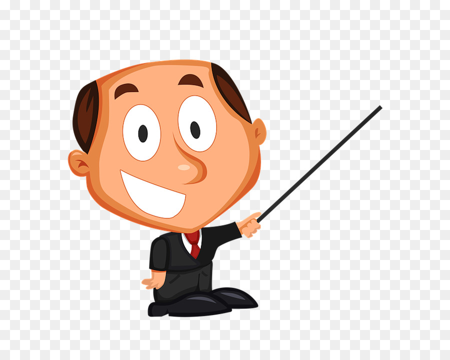 Animated cartoon. Teacher png download free