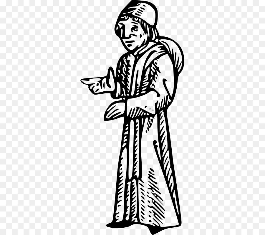 Edad media Abogado Chaucer Libro para Colorear Diseño Medieval, Clip ...