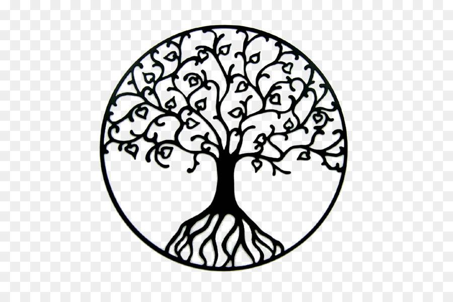 Tree Of Life Oak Clip Art