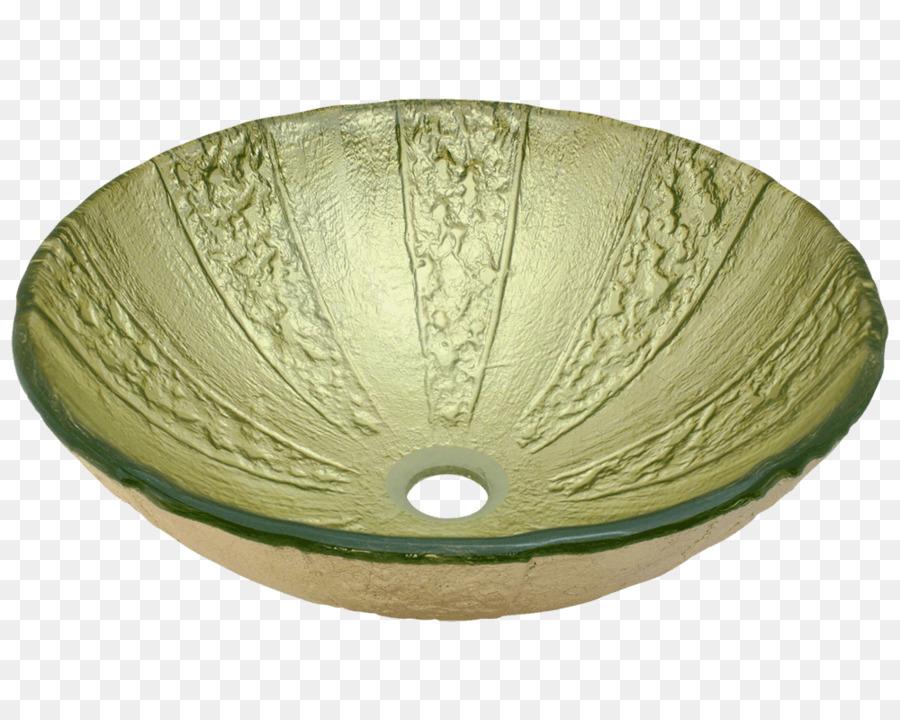 Bowl Sink Drain Glass Bronze   SINK BATHROOM