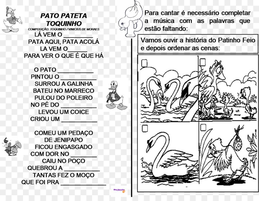 O Pato Metni çirkin ördek Poema şiir Dergi Png Indir 14761130