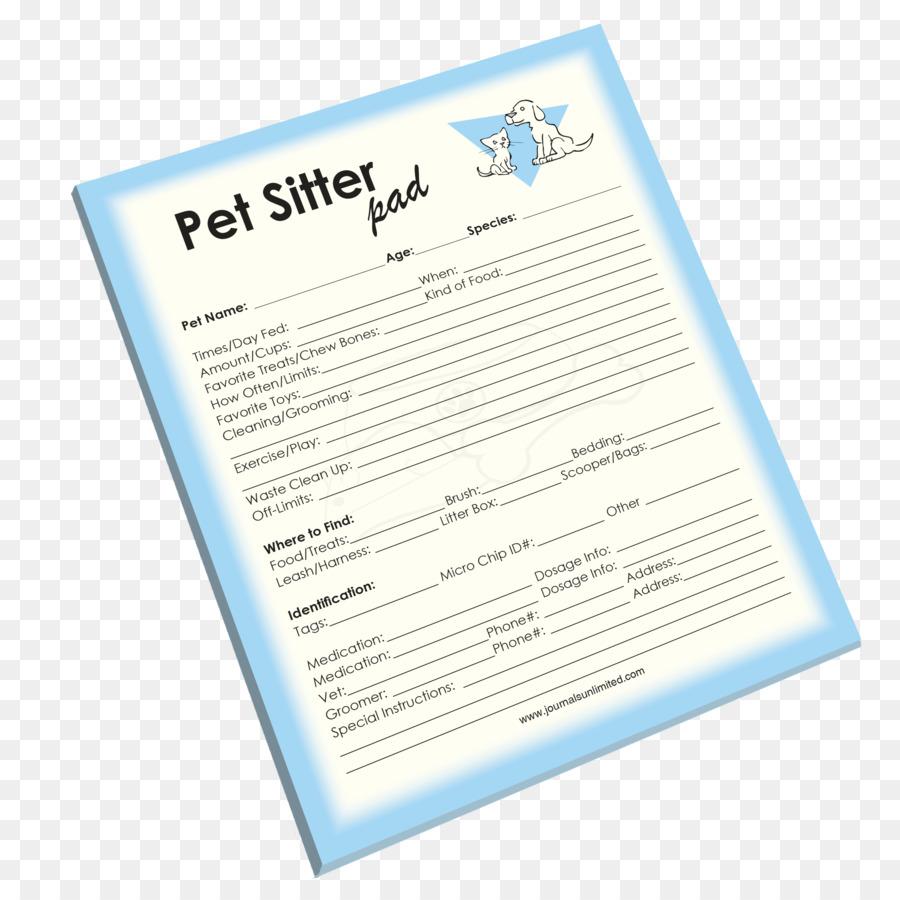 paper pet sitting font pet sitter png download 2700 2700 free