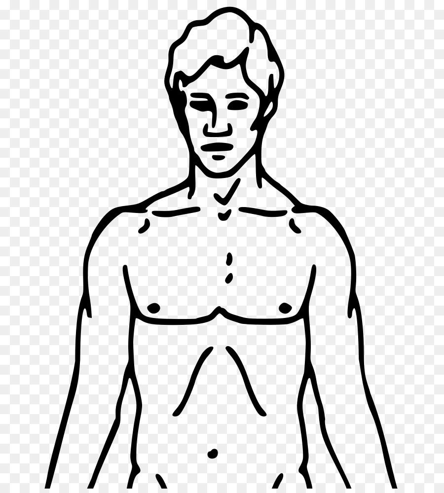 Imágenes prediseñadas cuerpo Humano Openclipart de Dibujo de ...