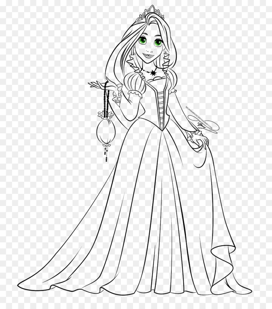 Rapunzel Princesa Aurora de la Princesa de Disney Dibujo para ...