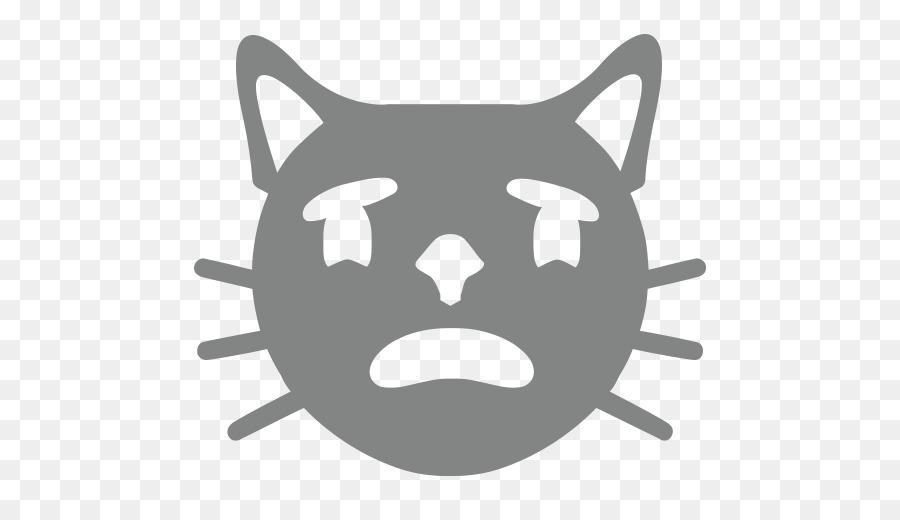 Bigotes Emoji Amor Emoticono Sonriente - Emoji Formatos De Archivo ...