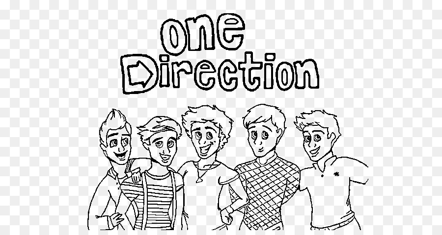 Colouring Pages One Direction Coloring Book Drawing Image French