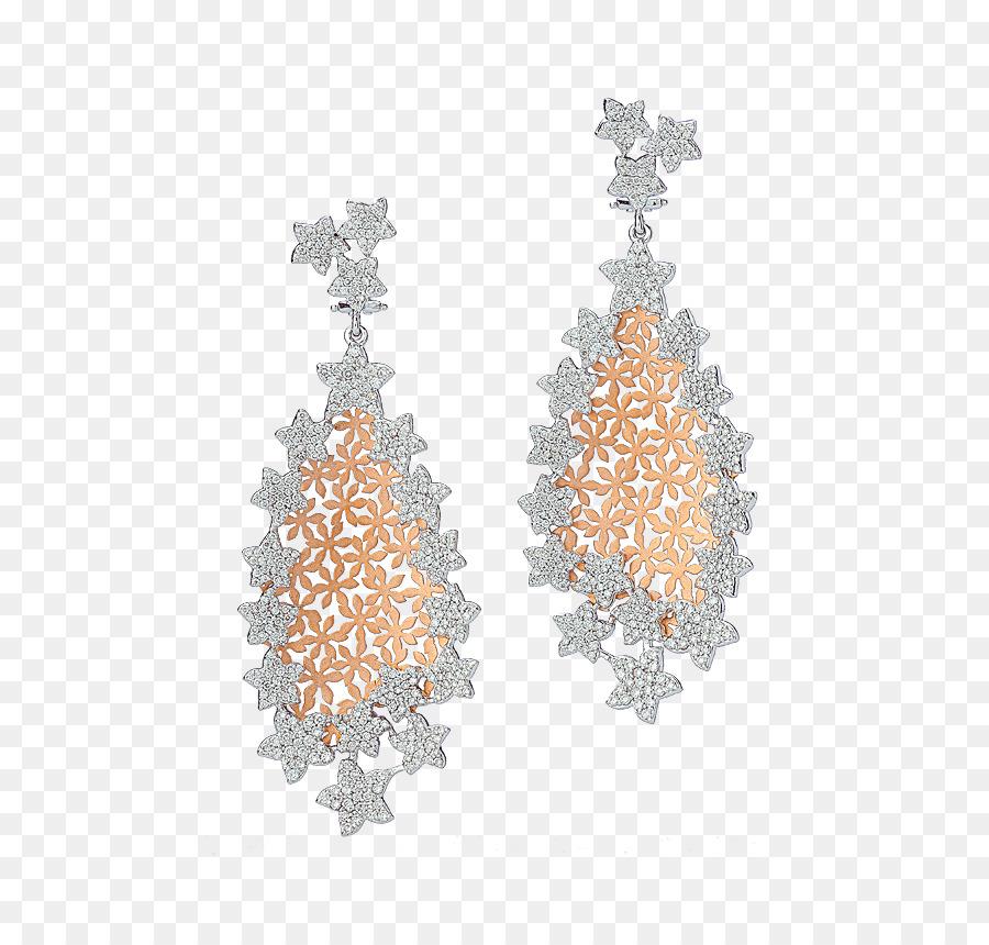Earring Christmas tree Bapalal Keshavlal Body Jewellery - christmas ...
