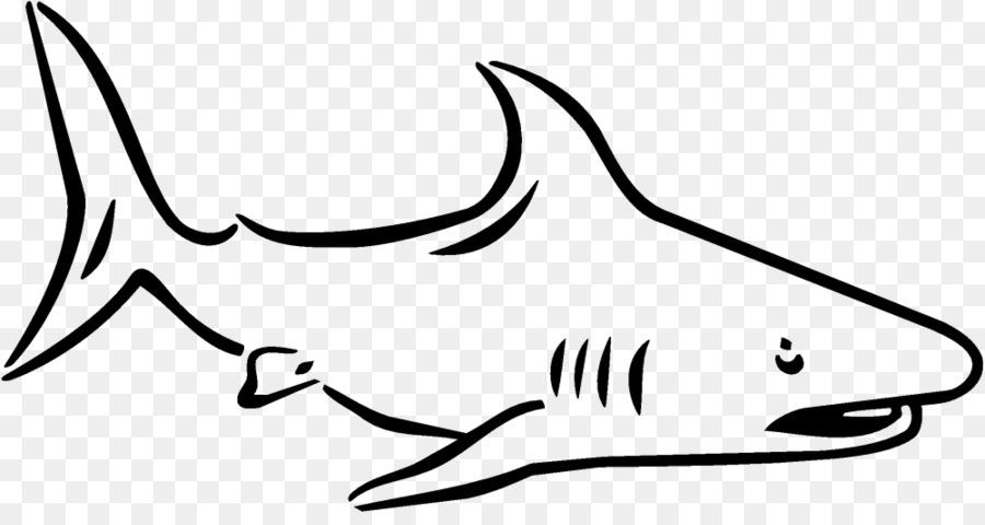 Hiu Harimau Clip Art Buku Mewarnai Gambar Hiu Unduh Ikan Putih