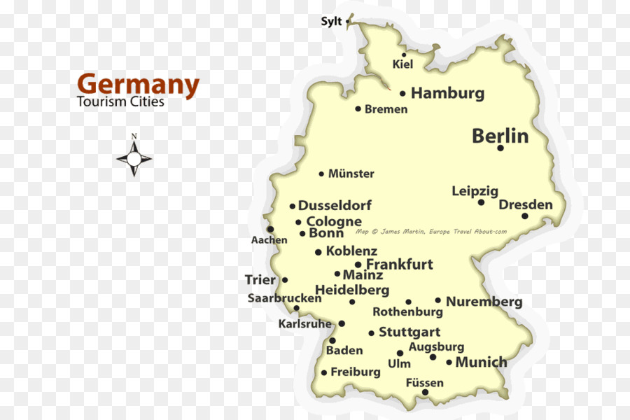 Germany City map World map - world map png download - 960*640 - Free ...