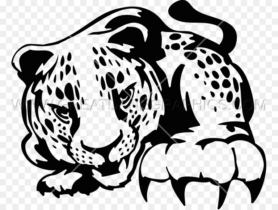 Jaguar Cheetah Leopard Tiger Clip Art