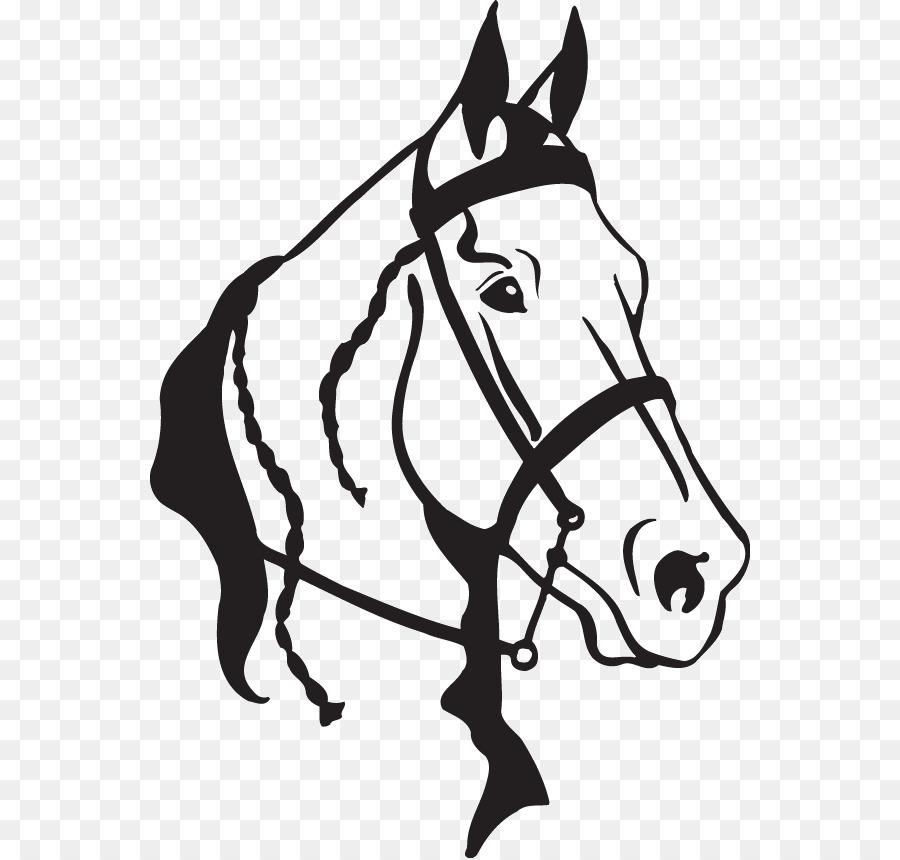 American Quarter Horse Clip Art Arabian Horse Openclipart Horse Head
