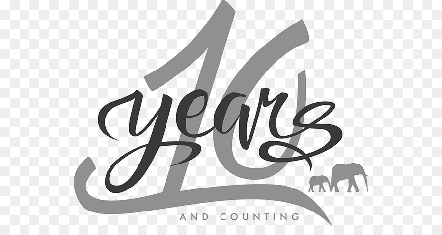 Logo Brand Graphic Design Product Design 10 Years Anniversary Png