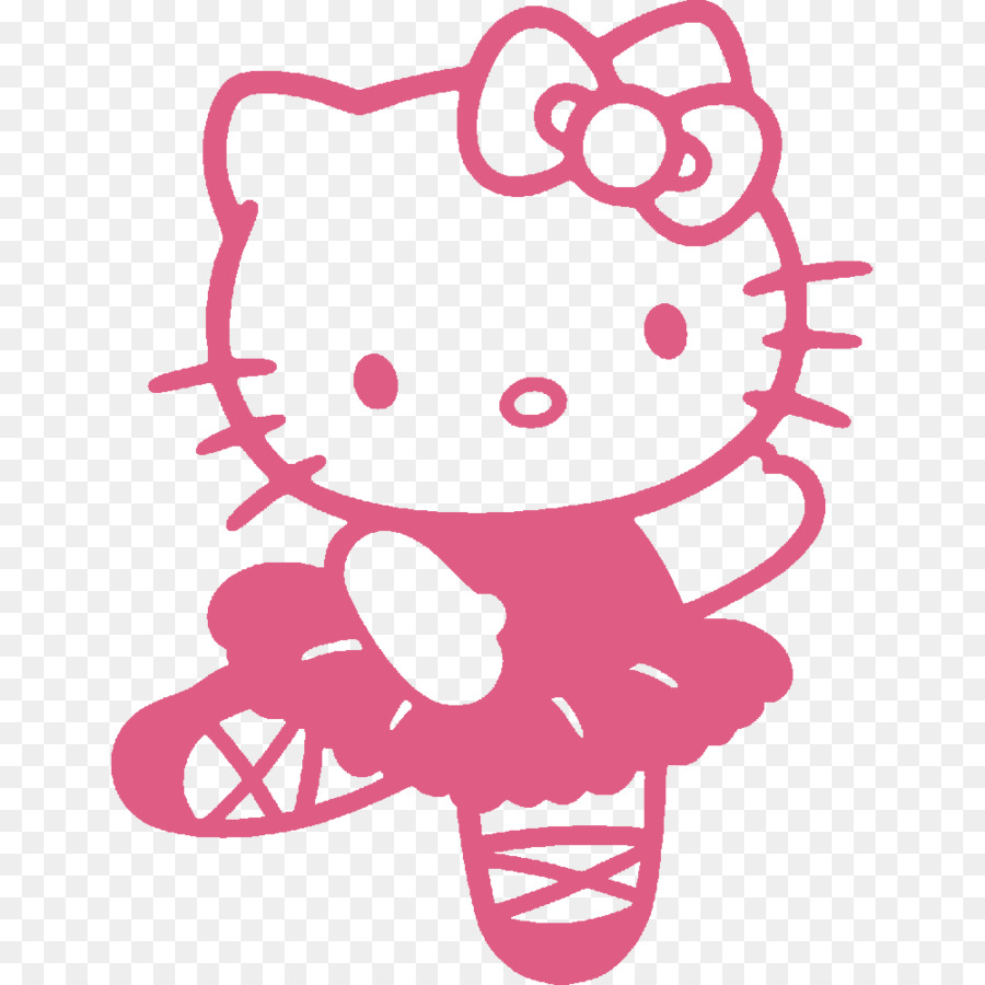 Hello Kitty Coloring Book Colouring Pages Image
