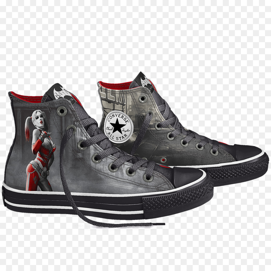 145a494e0888 Sneakers Harley Quinn Joker Catwoman Chuck Taylor All-Stars - harley quinn  png download - 1200 1200 - Free Transparent Sneakers png Download.