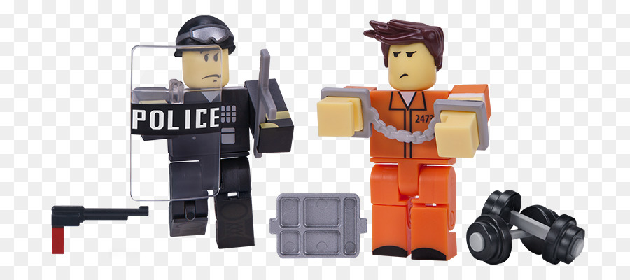 action toy figures roblox prisoner game roblox police png