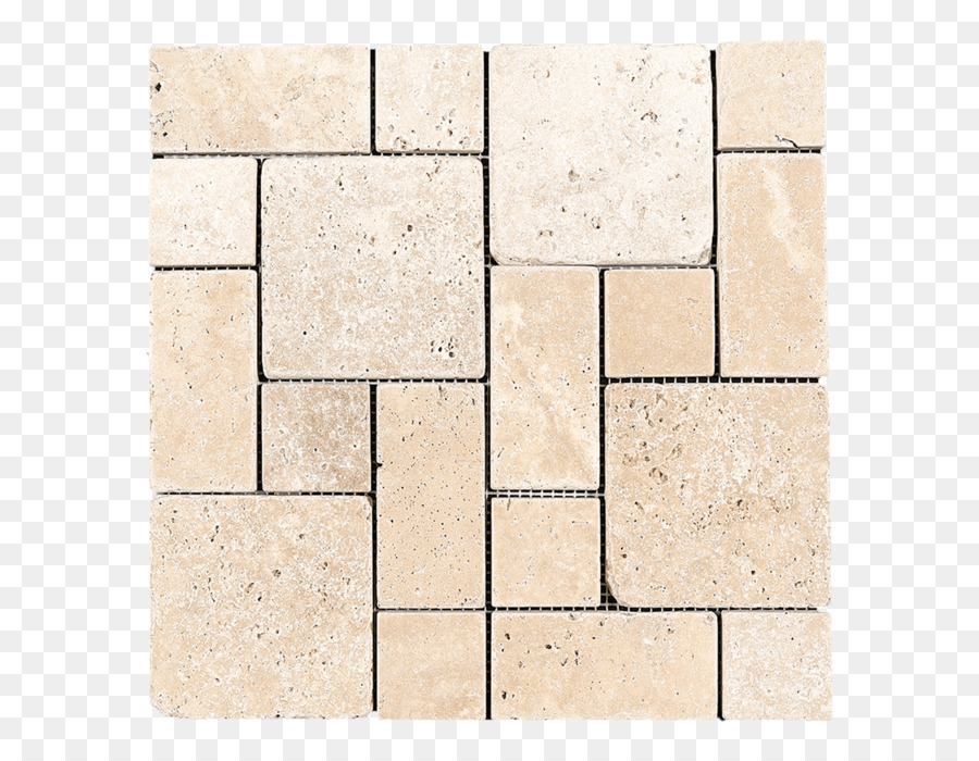 Floor Tile Mosaic Travertine Pattern Stone Png Download 700700