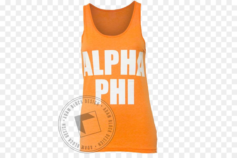 T-shirt Gilets Sleeveless shirt Font - Alpha Phi Alpha png